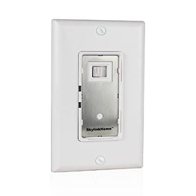 SkylinkHome WR-001 Dimmable Wall Switch Lighting Control In-Wall Remote Controllable Home Automation Smart Light Receiver, SkylinkNet Compatible Easy DIY Installation without neutral wire (300 Watts)
