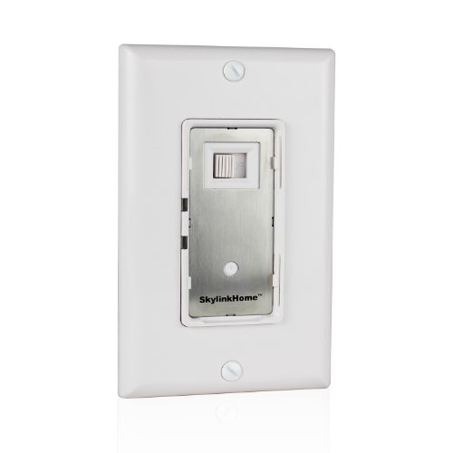 SkylinkHome WR-001 Dimmable Wall Switch Lighting Control In-Wall Remote Controllable Home Automation Smart Light Receiver,  SkylinkNet Compatible Easy DIY Installation without neutral wire (300 (Flashing Lcd Keychain)