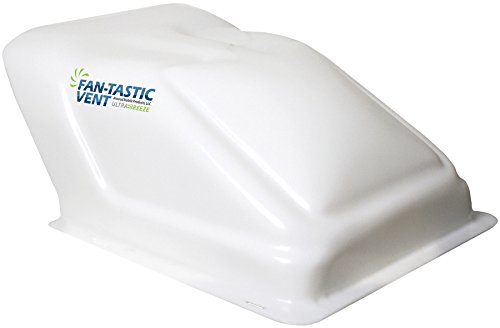 Fan-Tastic Vent U1500WH Ultra Breeze Vent Cover - White (Fan Tastic Fan Motor)
