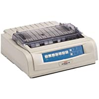 Okidata - Okidata Ml490 Printer, Refurbished, Like New Condition - 62418901