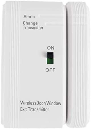 Vive Door, Window Silent Alarm - Wireless Sensor for Burglar Security, Open Wander Prevention Home Kit for Senior Citizens, Elderly, Dementia Patient, Child Room Safety - Home Alert System