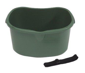 散布&収穫桶 ダークグリーン 20個 \u203b1個から購入できます。 約430(横)*310(縦)*213㎜(高さ) B00KCHNLK2 ダークグリーン(20個)配送料込(一部地域を除く) ダークグリーン(20個)配送料込(一部地域を除く)