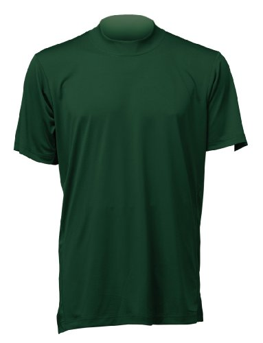Mizuno Men's MzO G2 Short Sleeve Tee, Forest, X-Small