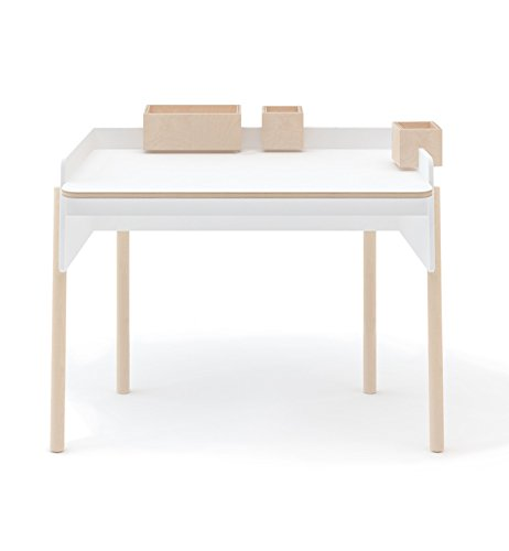 Oeuf Brooklyn Desk - Birch, White