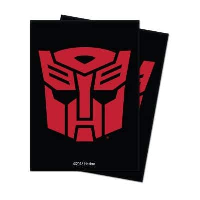 Transformer - Autobots Deck Protector Card Sleeves (100 ct.): Toys & Games