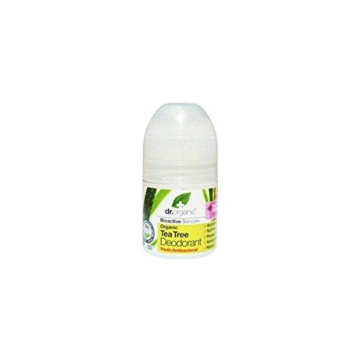 Dr Organic Tea Tree Deodorant Roll On 50ml