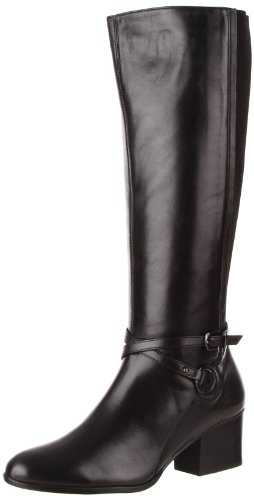 VANELi Women's Candie Knee-High Boot,Black Nappa,8 M US