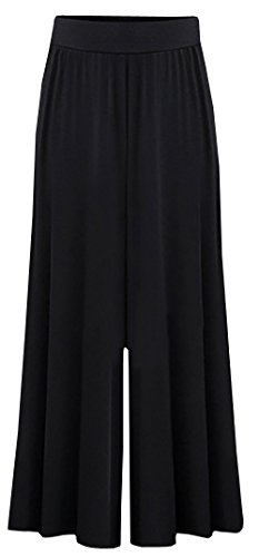 Dellytop Womens Loose Palazzo Trousers