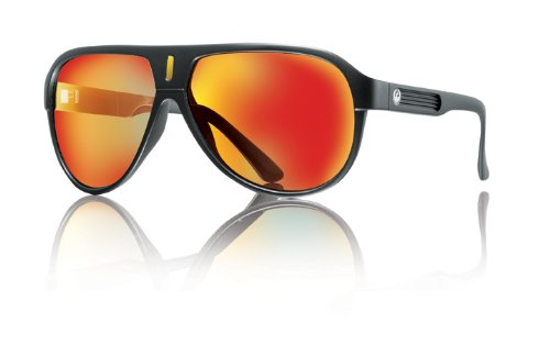Dragon Alliance Experience II Sunglasses (Black, Red Ion)