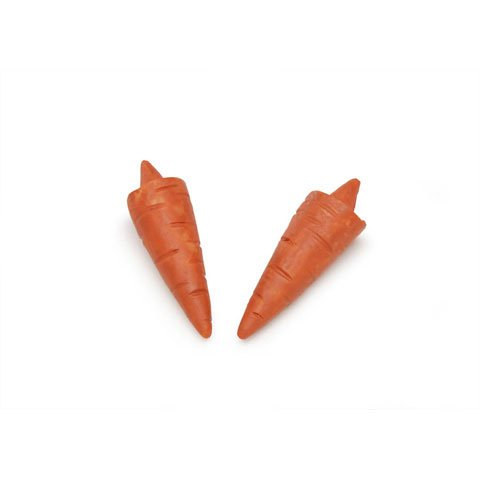 Carrot Nose (Bulk Buy: Darice DIY Crafts Carrot Nose Straight 1 1/4 inches 2 pieces (6-Pack) 2419-14)