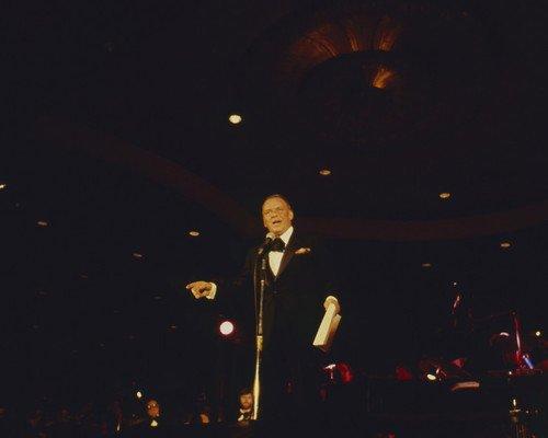 Frank Sinatra performing Caesar's Palace Las Vegas 16x20 - Palace Las Vegas Shops Caesars