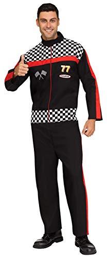 Fun World Men's Race Car Driver, Multi, STD. Up to 6' / 200 -