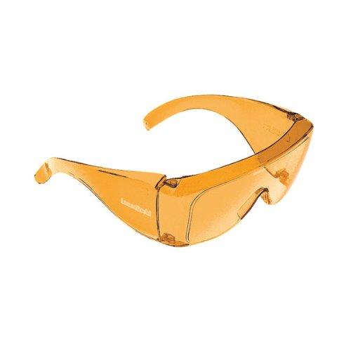 Noir Glasses - Noir Medium Fitover 49 Percent Orange
