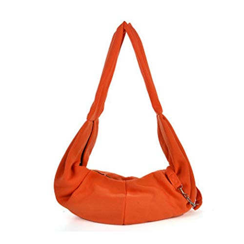 XGPT Pet Carriers Dog Sling Bag Light Diagonal Cross-Package,Orange