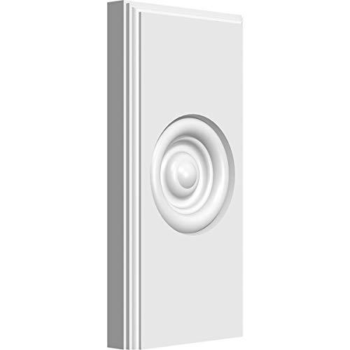 Ekena Millwork PBP035X070X075FOS03-CASE-2 Plinth Block, 3 1/2