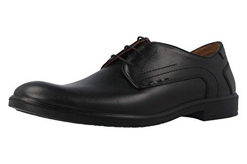 Jomos , Chaussures de ville à lacets pour homme Noir Noir