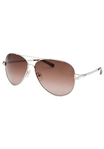 Valentino Women's Aviator Silver-Tone Su - Valentino Silver Sunglasses Shopping Results