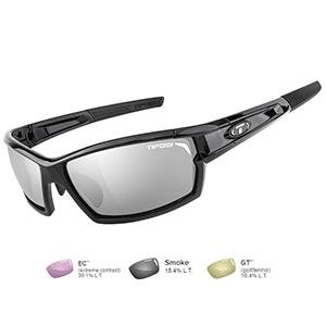 07984ecb782 Image Unavailable. Image not available for. Color  Tifosi Camrock Gloss  Black Golf Interchangeable Sunglasses ...