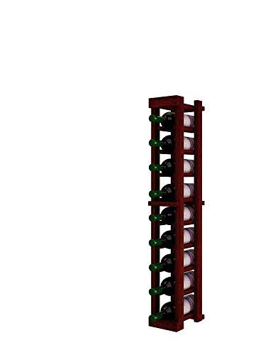 Winemaker Series Wine Rack - 1 Column - 3 Ft - Pine Classic Mahogany ()