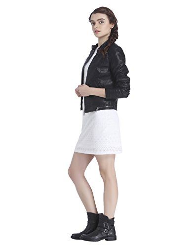 Nero Giacche giacca Vero Vmsoffy In Pelle Donna Moda 1E1qwO0
