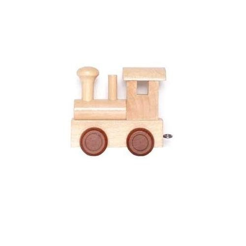 Childrens Personalised Wooden Alphabet Letter Train A-Z Name Set All Letters Available (FRONT CARRIAGE) Handelhaus 4020972074867