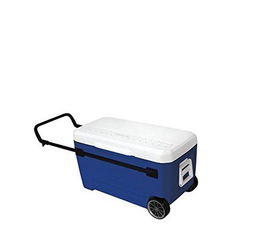 Igloo Glide Roller Cooler - Blue - 110 qt.
