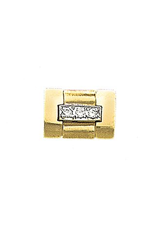 14K Yellow Gold Diamond Tie Tac-86182