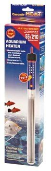 Penn Plax Cascade Preset SubmersibleAquarium Heater, 200-Watt (Aquarium Heater 200w compare prices)