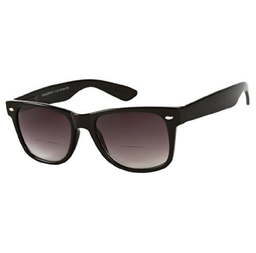 The Arizona Bifocal Wayfarer Spring Temple Sun Reader Sunglasses (2.50, - Mass Sunglasses Order