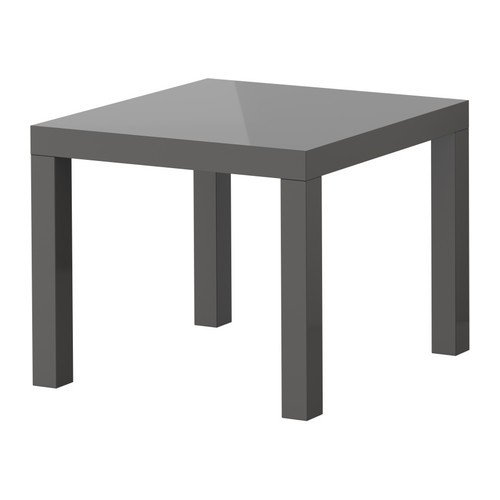 Beistelltisch ikea grau  IKEA Beistelltisch LACK Couchtisch mit 55x55cm - Tisch in ...