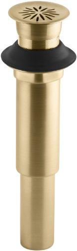 Trim Grid Decorative (Kohler K-7107-BGD Decorative Grid Drain Without Overflow, Vibrant Moderne Brushed Gold)