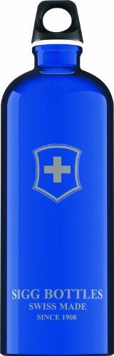 Swiss Emblem - Sigg Swiss Emblem Water Bottle (Dark Blue, 1.0-Litre)