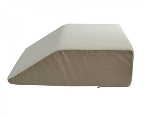 Leg/Bed Wedge with High Quality, Removable Cover (Size: 8'' X 20'' X 25''. Color: Navy) (Terry) by Alex Orthopedic Inc