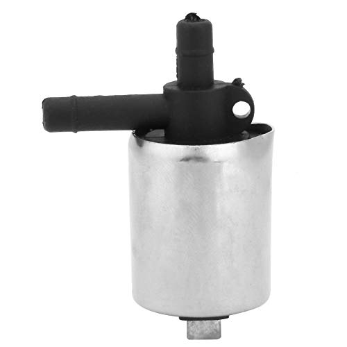 Yosoo 6mm DC 12V Small Plastic Solenoid Valve for Gas Water Air N/C, Normally Closed