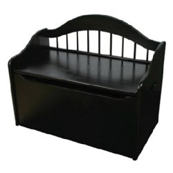 Limited Edition Toy Box in Black