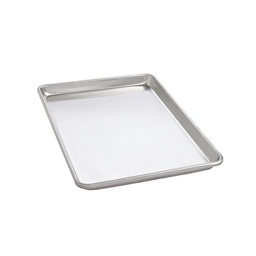 Air- Bake Jelly Roll Pans (Mrs. Anderson's Baking Jelly Roll Pan, 10.25-Inches x 15.25-Inches, Heavyweight Commercial Grade 19-Gauge Aluminum)