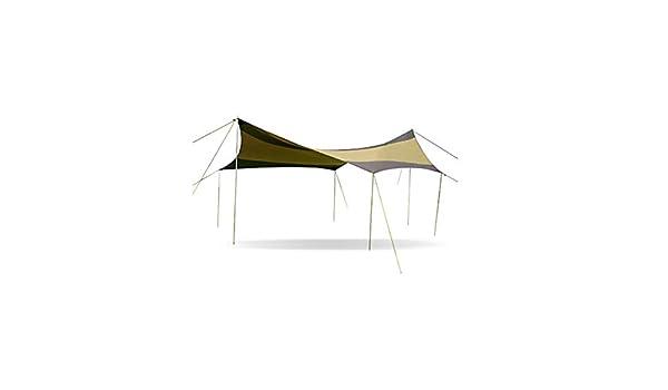 EETYRSD Tienda Exterior 5M * 5M marquesina toldo Cubierta con pérgola Protector Solar para Acampar sombrilla Playa: Amazon.es: Hogar