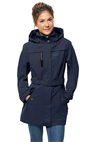 Jack Wolfskin Women's Kimberley Coat, Midnight Blue, Small -