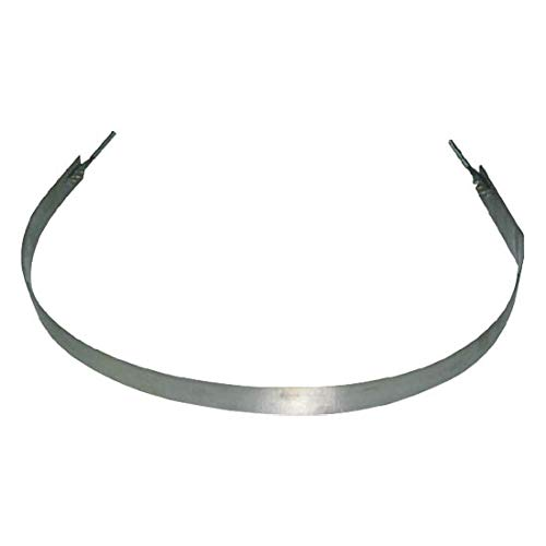 Reefer Express (Fuel Tank Strap 2 Inch Wide Stainless Fits Reefer Trailer With 22 Inch Tanks)