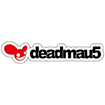 6/'/' or 8/'/' Deadmau5 Sticker Car Bumper Decal