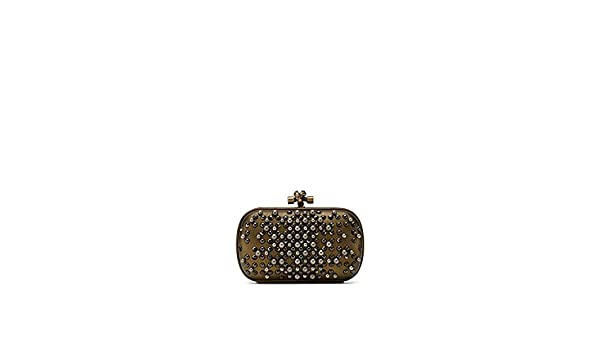 b16f8723409e Bottega Veneta Pearl Chain Knot Clutch Bag Made in Italy  Handbags   Amazon.com