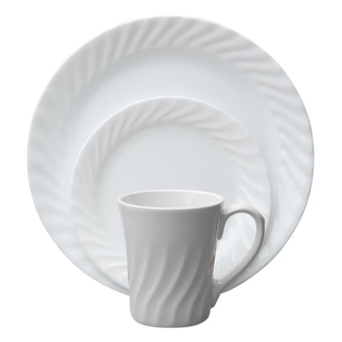 Corelle Vive 16-Piece Dinnerware Set, Enhancements, Service for 4 ()
