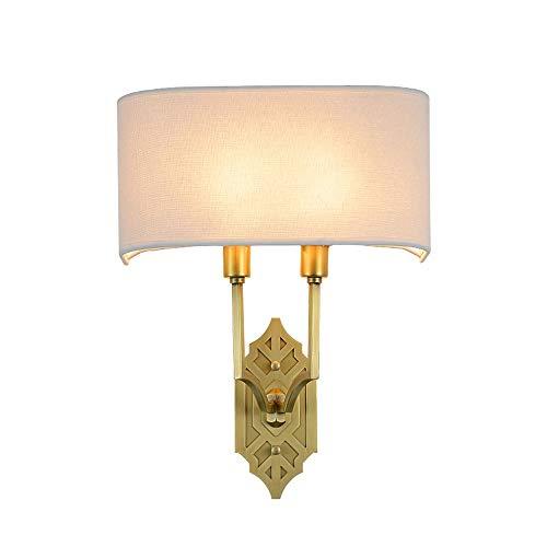 LDDENDP Edison Light Bulbs European Living Room Wall Lamp American Country Bedside Wall Lamp Restaurant bracket light Wash Table Mirror Headlights Simple Aisle Copper LED Energy Saving Lamp 2 Packs 13