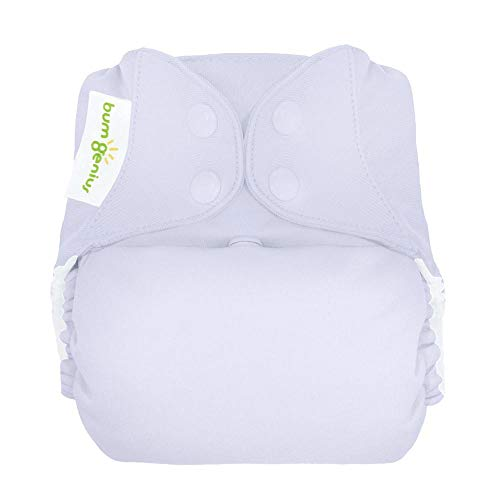 bumGenius Elemental 3.0 All-in-One One-Size Cloth Diaper with Organic Cotton (Bubble)