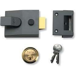 Pestillo cerrojo Yale cerradura de seguridad estándar - 40 mm - con pestillo
