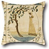 [Oil Painting Mary Hamilton, American - Sampler Cushion Covers 20 X 20 Inches / 50 By 50 Cm For Home Theater,boy Friend,festival,father,gf,her With Twin] (Simple Nursery Rhyme Costumes)