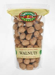 English Walnut (In Shell Jumbo Natural Walnuts - 3 lb.)