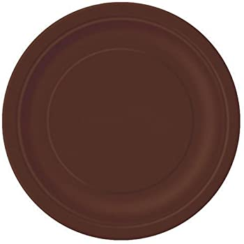 Brown Paper Cake Plates 20ct  sc 1 st  Amazon.com & Amazon.com: Brown Paper Cake Plates 20ct: Kitchen u0026 Dining