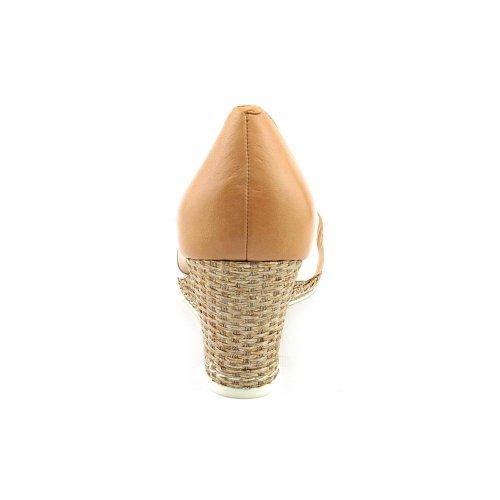 Zeppa Donna Corta Ava Open Toe, Beige, Taglia 10.0