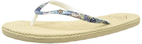 Roxy South Beach, Chanclas Para Mujer Multicolore (ROYAL BLUE/TURQUOISE)
